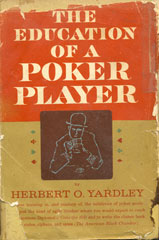 Education of a Poker Player by Hubert O. Yardley
